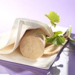 Foie gras d'Oie Entier mi-cuit au torchon