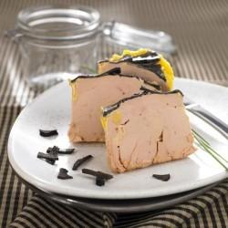Foie gras de canard entier truffé 5%