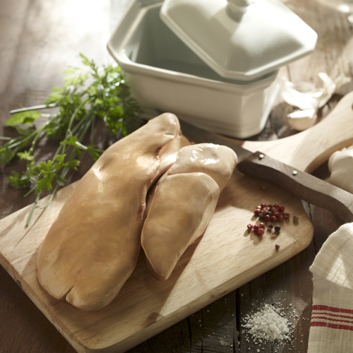 Lobe de foie gras cru de Canard