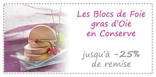 Les Blocs de Foie gras Oie