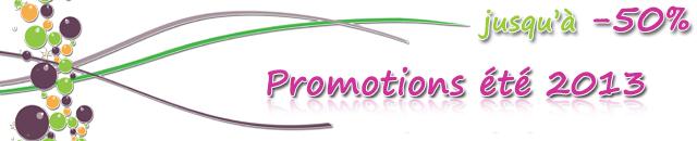 Promotions été 2013