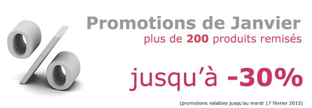 Promotions de Janvier