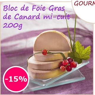 Foie gras en promo