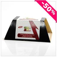 Foie gras de Canard Entier Mi-cuit au Poivre de Sarawak 420g