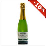 Champagne Plinguier Potel Brut, AOC Champagne Brut, 37,5cl