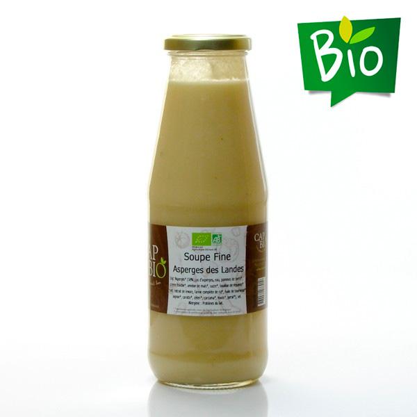 Soupe fine d'asperges des Landes BIO, 70cl