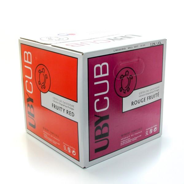 Domaine Uby rouge IGP Côtes de Gascogne UbyCub BIB 5L