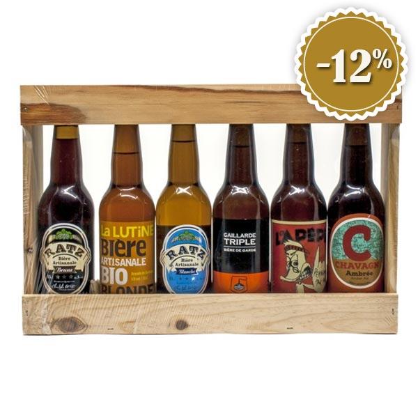 Lot de bières de micro-brasseries artisanales du Sud-Ouest (6x33cl)