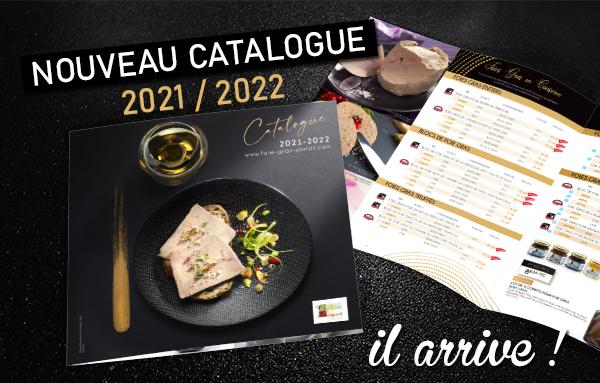 Le nouveau catalogue 2021 arrive !