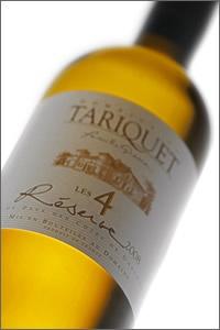 Bouteille de Tariquet Reserve Les 4