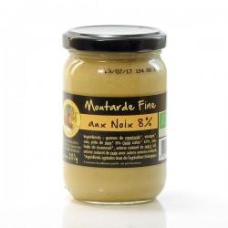 Moutarde Fine Bio de Dordogne aux Noix 200g