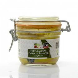 Foie Gras d Oie Entier Truffé 5% Origine Périgord 190g
