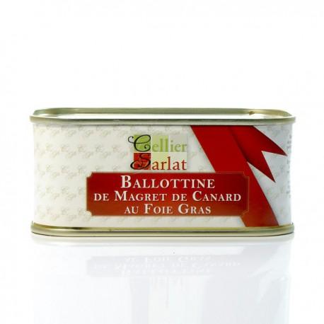 Ballottine de Magret de Canard au Foie Gras 200g