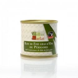 Bloc de Foie gras d'Oie Origine Périgord 100g