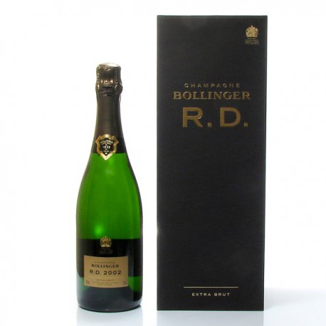 Champagne Bollinger RD AOC Champagne brut 2002 AVEC COFFRET, 75 cl