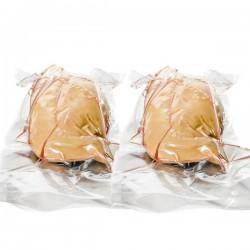 Lot de 2 Foie gras cru sous vide IGP Périgord