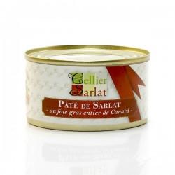 Pâté de Sarlat au foie gras entier de canard, 130g