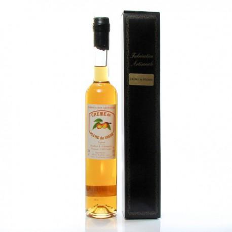 Crème de Pêche de vigne 20° Distillerie La Salamandre, 50cl
