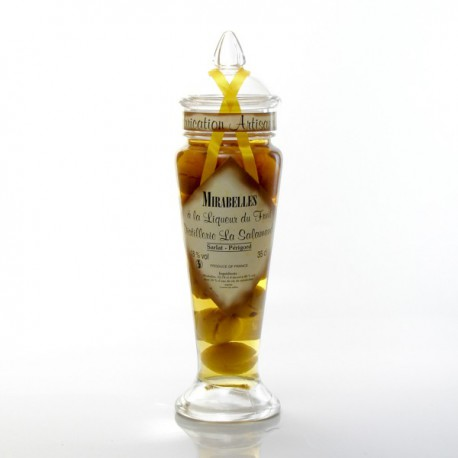 Mirabelle à la liqueur 18° Distillerie de la Salamandre, 35cl