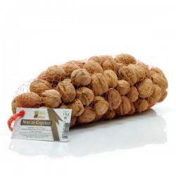 Noix entières en coquilles, filet de 1kg