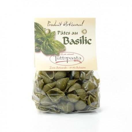 Pâtes aux Basilic (ARTISANALES ET REGIONALES) 150g