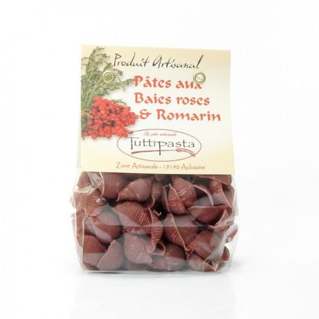 Pâtes aux Baies Roses et Romarin (ARTISANALES ET REGIONALES) 150g