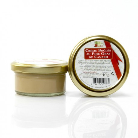 Crème brûlée au Foie gras, 40g