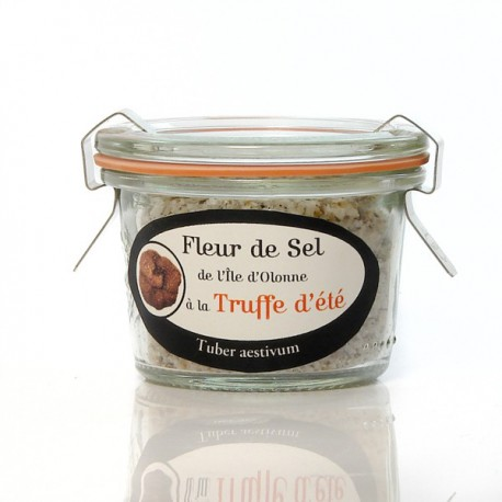 Fleur de sel à la truffe d'été 6 %, 50g