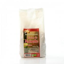 Farine artisanale de noisettes Bio du Perigord -sans gluten- Moulin de la Gaumerie