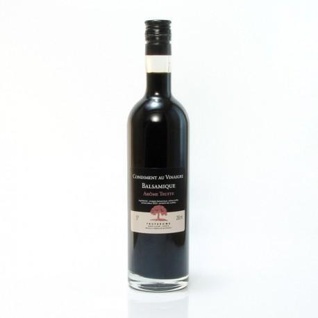 Condiment au Vinaigre Balsamique arôme Truffe, 25cl