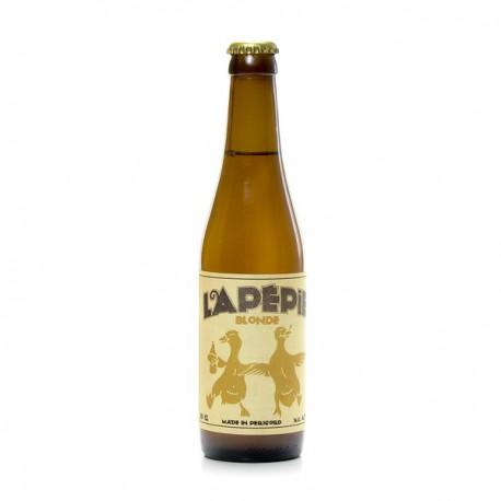 Bière blonde artisanale du Périgord Brasserie Lapépie, 33cl