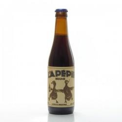 Bière brune artisanale du Périgord Brasserie Lapépie, 33cl