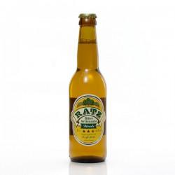 Bière blonde artisanale du Quercy Brasserie Ratz, 33cl