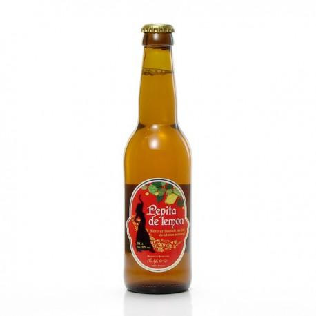 Bière Pepita de Lemon artisanale du Quercy Brasserie Ratz, 33cl