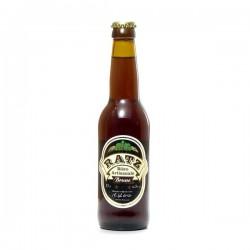 Bière brune artisanale du Quercy Brasserie Ratz, 33cl