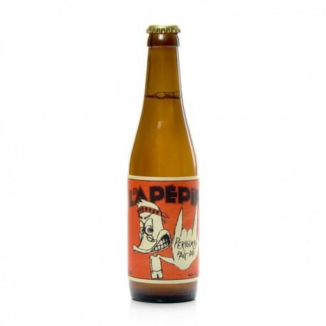 Bière blonde Pale Ale artisanale du Périgord Brasserie Lapépie, 33cl