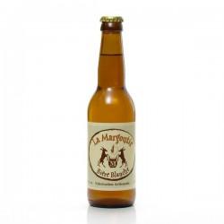 Bière blanche artisanale du Périgord Bio Brasserie Margoutie, 33cl