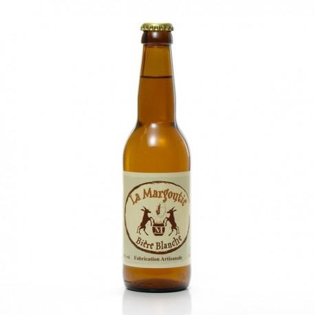 Bière blanche artisanale du Périgord Brasserie Margoutie, 33cl