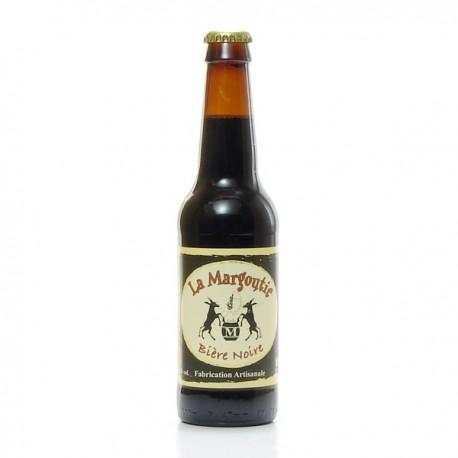 Bière noire artisanale du Périgord Brasserie Margoutie, 33cl