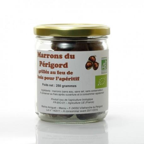 Marrons grillés pour l'apéritif 250g