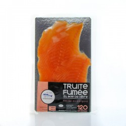 Plaque truite fume tranchee 120g