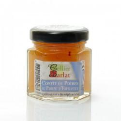 Confit de poires au piment d'espelette 50g