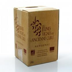 BIB Vin AOC Bergerac sec bio Jeunes Vignes de l'Ancienne Cure 5L