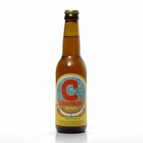 Bière blonde artisanale Brasserie Chavagn, 33cl