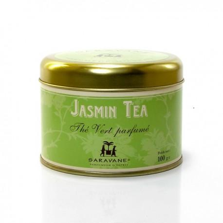 Thé parfumé Jasmin Boite de 100g
