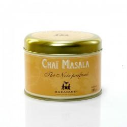 Thé d'Inde Chai Masala Boite de 100g