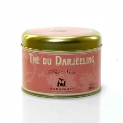 Thé d'Inde Darjeeling Boite de 100g