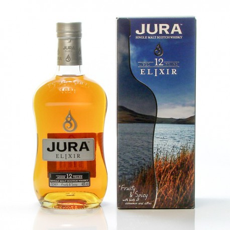 Whisky Ecosse Jura 12ans ELIXIR Single Malt Scotch 46° 70cl