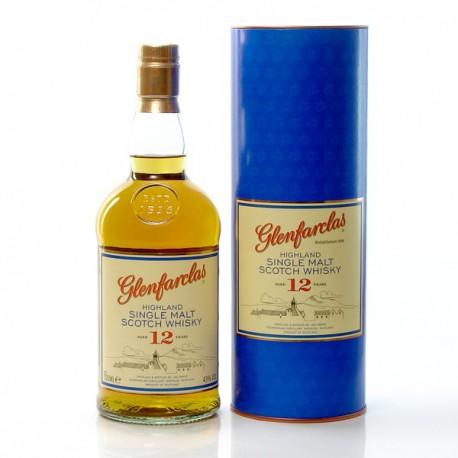Whisky Ecosse Glenfarclas 12ans Single Malt Scotch 43° 70cl