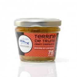 Terrine de truite au piment d'Espelette, 75g